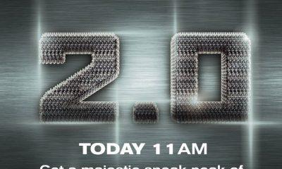 2.0, Movie, Sneak Peek, Release, 11 AM, Today, ஸ்னீக் பீக், ரிலீஸ், ஷங்கர், ரஜினிகாந்த்