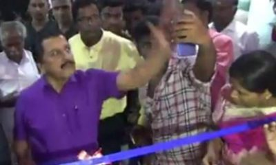 Actor Sivakumar Explained About Why He Knocked A Phone Of A Fan To Take Selfi