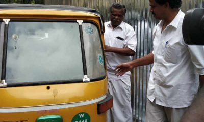 CPI Mutharasan went to DMK meeting in Auto - Photo becomes viral