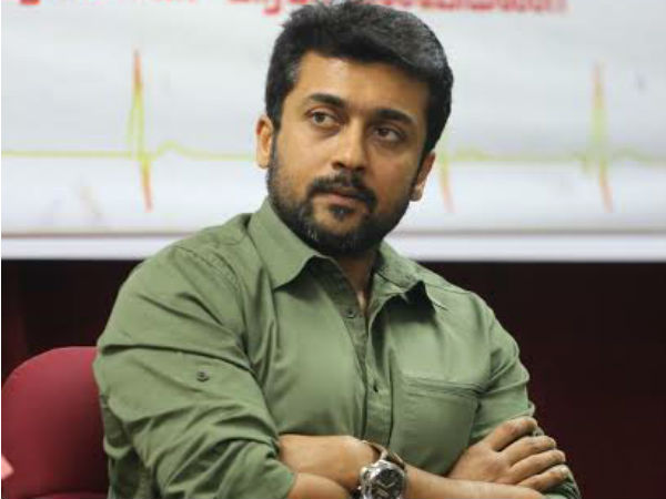 Surya Adopted Died Fan's Family