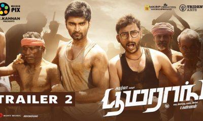 Boomerang, Official Tamil Trailer 2, Atharvaa, RJ Balaji, R Kannan, Radhan, அதர்வா, புரட்சி, பூமரங், டிரைலர்