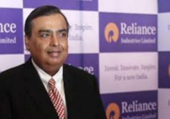 Mukesh Ambani in Reliance Industries