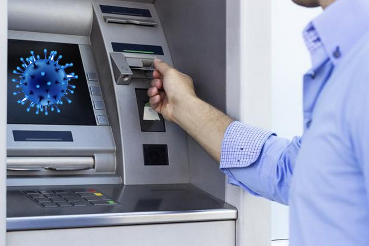 Coronavirus Spreads Through ATM and Cash Transactions