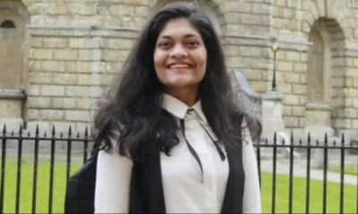 Rashmi Samant become first Indian female president of OUSU